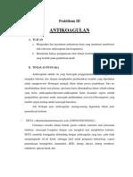 laporan antikoagulaaaan