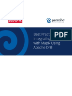 Integrate Pentaho With MapR Using Apache Drill