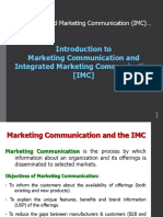 PPT 1 - Introduction to Marketing Communications and IMC