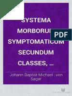 Systema Morborum Von Sagar