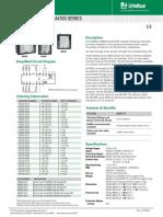 Littelfuse AlarmMonitoring M4500 4600 4700 Datasheet