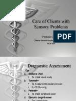 Sensory EENT Disorders(2) Edited