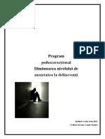 Delicventa Program
