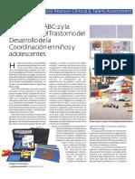 MABC 2 Evaluacion Dificultades Coordinación Niños y Adolescentes