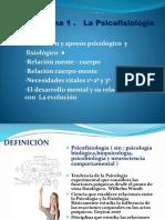 Presentación Fisiología y Conducta clases magistrales ( Power point )