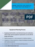 10. Equipment Planning Procurement - Dr .Enna