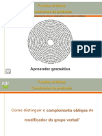 Distinguir Complemento Oblquodo Modificador Grupo Verbal 130512131455 Phpapp02
