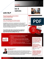 Sales Strategies and Negotiation with NLP