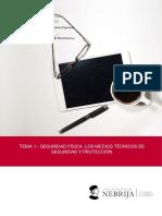 TEMA 1.- SEGURIDAD FÍSICA. LOS MEDIOS TÉCNICOS DE SEGURIDAD Y PROTECCIÓN. Grado en Seguridad. Prof. Espinosa.pdf