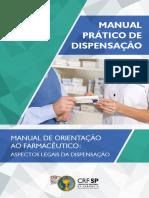 Manual de Orientação ao Farmacêutico Dispensação CRF SP