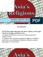 student copy religions of asia