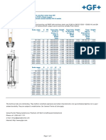Data Sheet For GF Flometer
