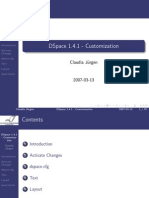 customizationDSpace