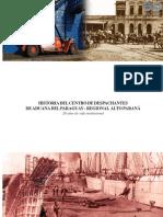 Historia Del Centro de Despachantes de Aduana Del Paraguay - Fidel Miranda Silva - Ano 2009 - Portalguarani