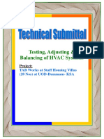 Technical Submittal 03656