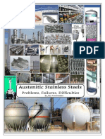 Austenitic Stainless Steels, Problems-Failures-Difficulties