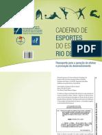Caderno de Esportes do Estado do Rio de Janeiro