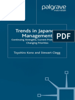 Trends in Japanese Management Continuing Strengths, Current Problems and Changing Priorities