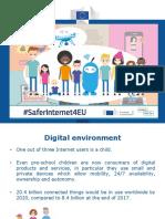 SaferInternet4EU - EC Launch Presentation