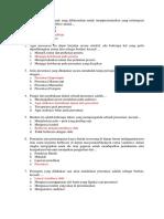 Soal Teknik Presentasi Bisnis