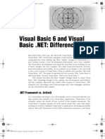 34075305 Visual Basic 6 and Visual Basic NET Differences