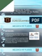 definiciones y Propiedades de los fluidos