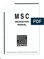 Archive MSC Instruction-manual