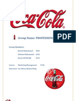 Term Report Coca Cola
