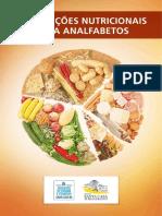 Cartilha Orientacoes Nutricionais Para Analfabetos