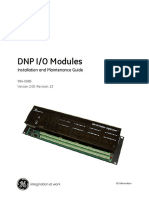 DNP IO Modules and D400 Manual