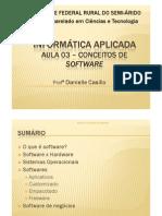 Aula 03 - Conceitos de Software
