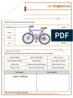 Worksheets Bicycle v2