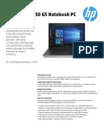 HP ProBook 450 G5 Datasheet
