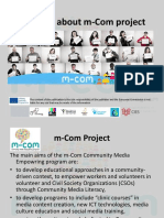 m Com Summary About Project