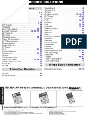 EMBEDDEDSECTION pdf | Electrical Engineering | Radio Technology