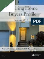 2018 Aspiring Home Buyers Profile