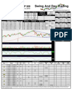 SPY Trading Sheet for Wednesday, September 8, 2010