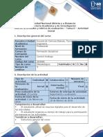 Guia de Actividades y Rubrica de Evaluación -Tarea 0 - Actividad Inicial