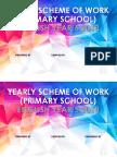 Yearly Scheme of Work (Primary School)