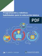 Programación y Robótica Habilidades Para La Educación Básica