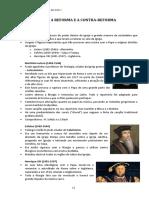 12.1-A Reforma e a Contra-reforma