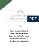 Producción MTBE