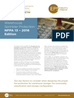 NFPA 13 2016 Edition