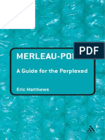 Merleau Ponty - A Guide for the Perplexed