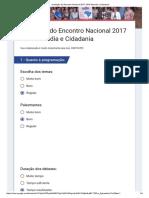 Encontro Nacional 2017 - ONG Moradia e Cidadania