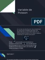Variable de Poisson
