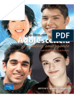 Adolescencia y Adultez Emergente Un Enfoque Cultural