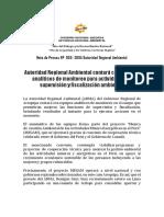 NOTA DE PRENSA N° 003- 2018 - GRA, CONTARÁ CON EQUIPO ANALITICOS DE MONITOREO EN CAMPO PARA MEJORAR LAS ACTIVIDADES DE SUPERVISIÓN Y FISCALIZACIÓN AMBIENTAL
