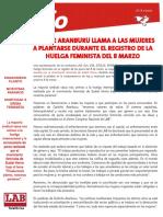 m8 Huelga Feminista