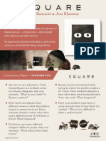 Square by Mac Barnett & Jon Klassen Teacher Tip Card
